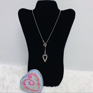 Brighton Lariat Heart Necklace